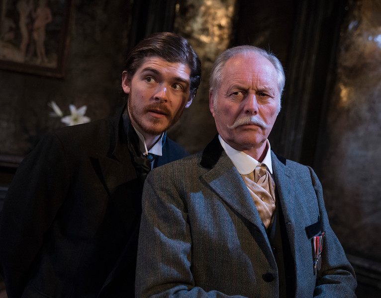 'The Passing of the Third Floor Back' Play performed at The Finborough Theatre, London, UK