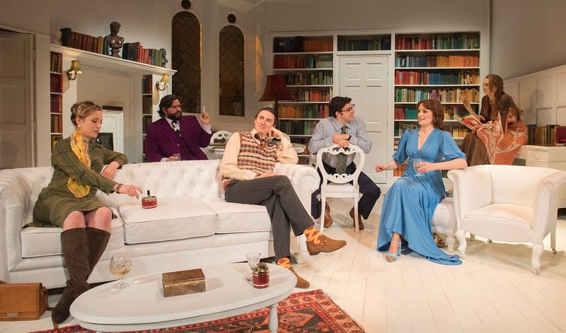 'The Philanthropist' Play performed at the Trafalgar Studio Theatre, London, UK