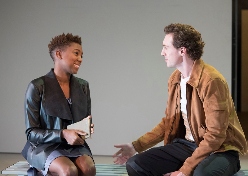 'The Phlebotomist' Play by Ella Road performed at Hampstead Theatre, London, UK