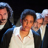 'The Plague' Play directed by Neil Bartlett performed at the Arcola Theatre, London, UK