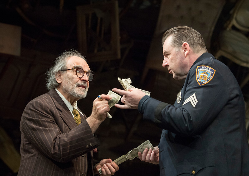 'The Price' Play by Arthur Miller performed at Wyndham's Theatre, London, UK
