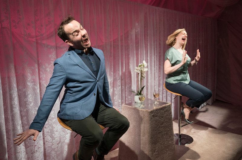 'The Prudes' Play writen and Directed by Anthony Neilson, performed at the Royal Court Theatre Upstairs, London, UK
