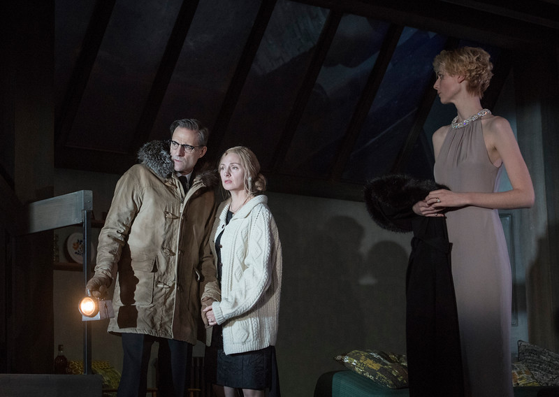 'The Red Barn' Play by David Hare performed in the Lyttelton Theatre at the Royal National Theatre, London, UK