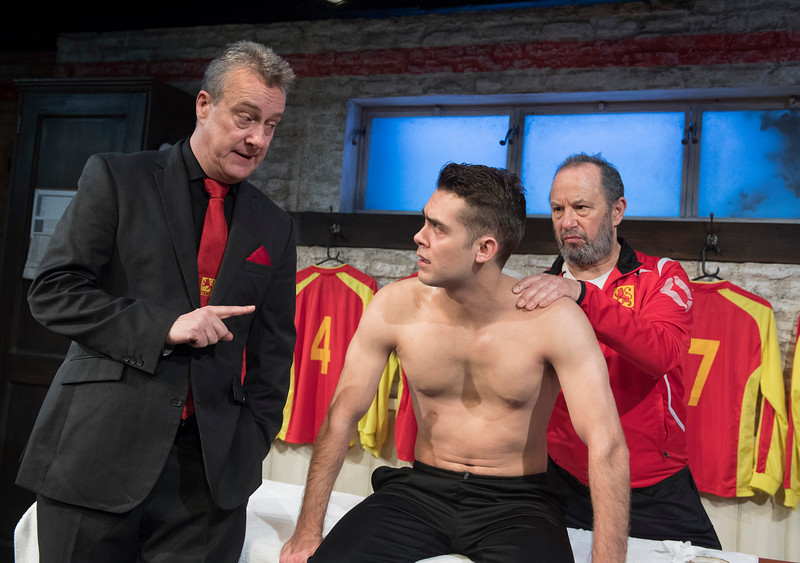 'The Red Lion' Play performed at the Trafalgar Studios, London, UK