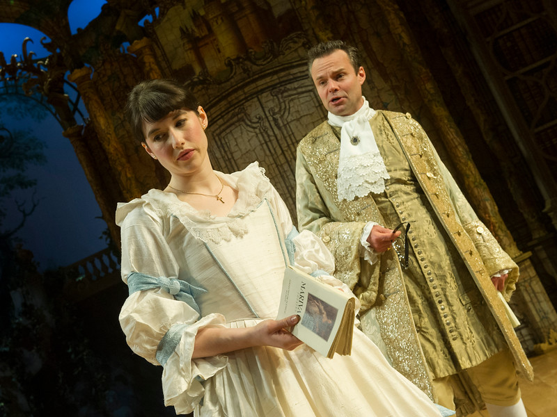 'The Rehearsal' Play performed in the Minerva Theatre at Chichester Festival Theatre, UK
