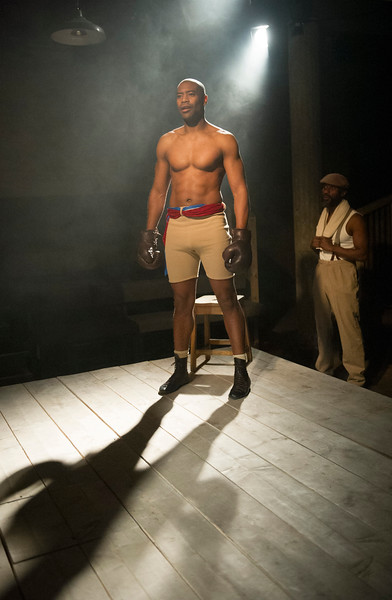 'The Royale' Play performed at the Bush Theatre, London, UK
