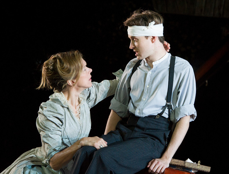 'The Seagull' Play performed at the Open Air Theatre Regent's Park, London, UK