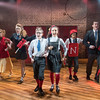 'The Secret Diary of Adrian Mole Aged 133/4-The Musical' Performed at the Menier Chocolate Factory, London, UK