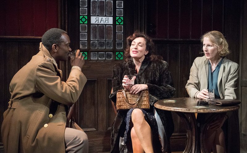 'The Slaves of Solitude' Play performed at Hampstead Theatre, London, UK