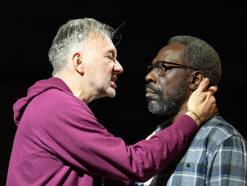 'The Sunset Limited' Play performed at the Boulevard Theatre, London, UK