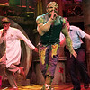 'The Toxic Avenger' Musical created by Joe Di Pietro and David Bryan performed at the Arts Theatre, London, UK