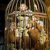 'The Twits' by Roald Dahl. Play performed at the Royal Court Theatre, London, UK