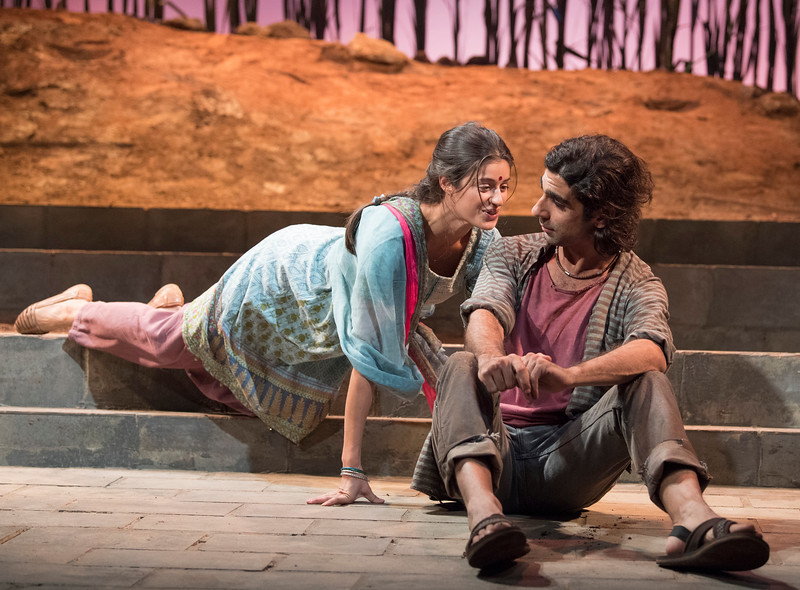 'The Village' Play performed at the Theatre Royal, Stratford E15, London,UK