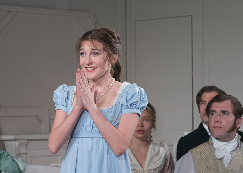 'The Watsons' Play performed at the Menier Chocolate Factory Theatre, London, UK