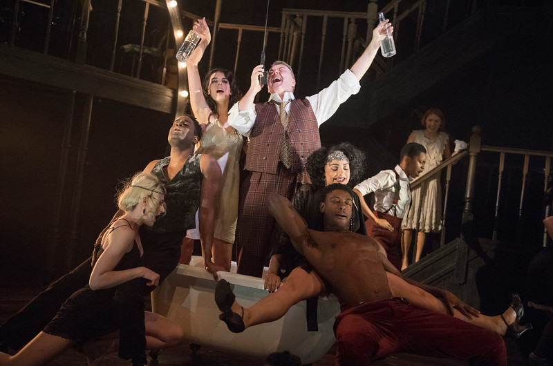 'The Wild Party' Musical performed at the Other Palace Theatre, London, UK