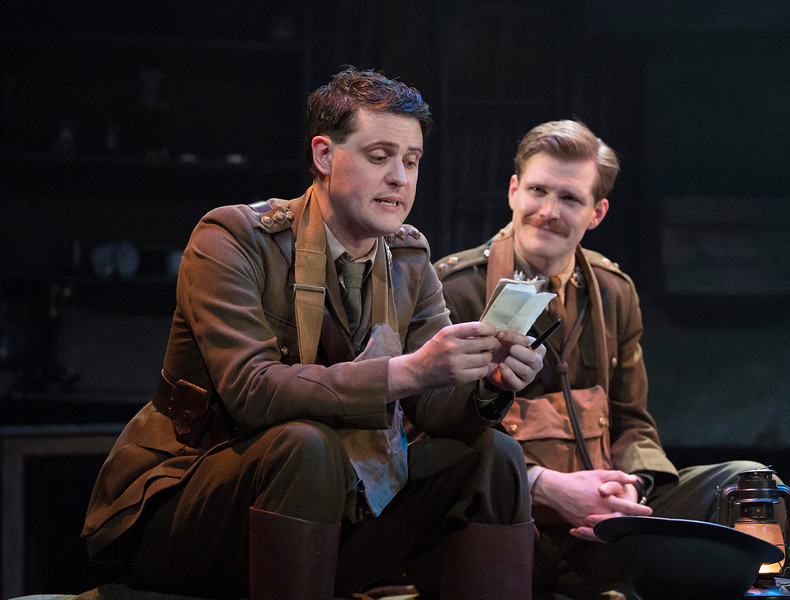 'The Wipers Times' Play by Ian Hislop performed at the Arts Theatre, London,UK