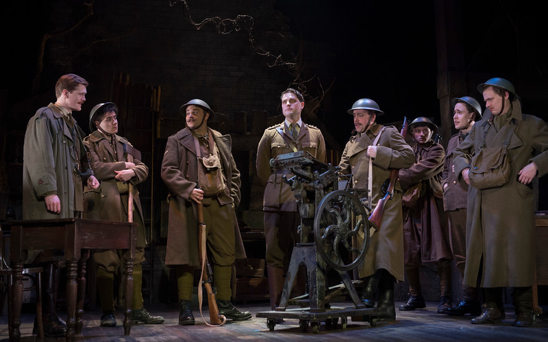 'The Wipers Time' Play by Ian Hislop performed at the Arts Theatre, London, UK