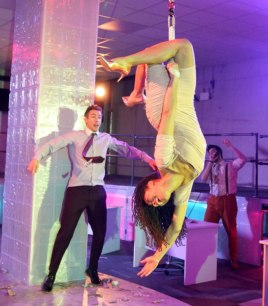 'The Wolf of Wall Street, the Immersive Experience' Performed at 5-15 Sin Street EC2, London, UK