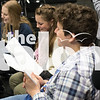 Theatre students perform during class at Argyle High School in Argyle, Texas, on November, 28, 2018. (Lauren Metcalf / The Talon News)