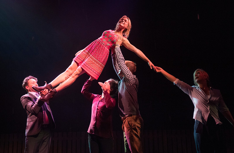 'Things I Now to be True' Play performed by Frantic Assembly Theatre Company at the Lyric Theatre, Hammersmith, London, UK