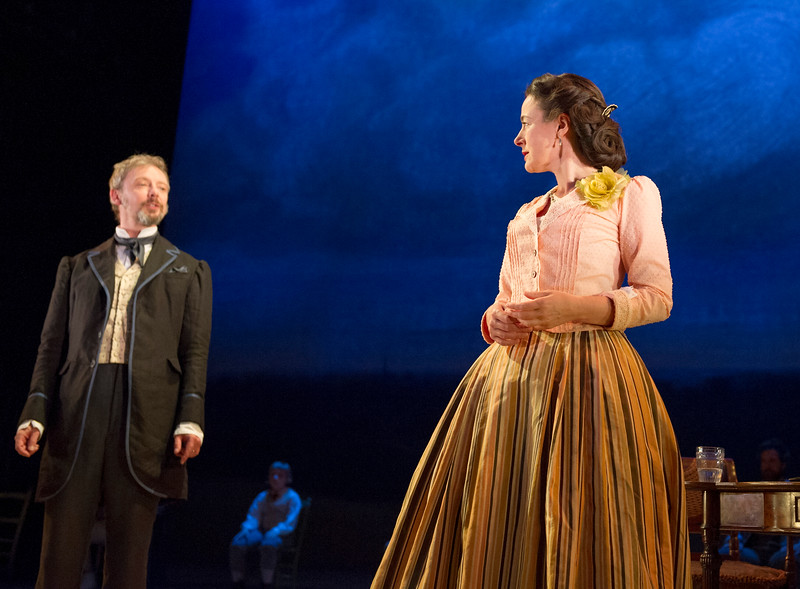 'Three Days in the Country' Play performed in the Lytelton Theatre at the Royal National Theatre, London, UK