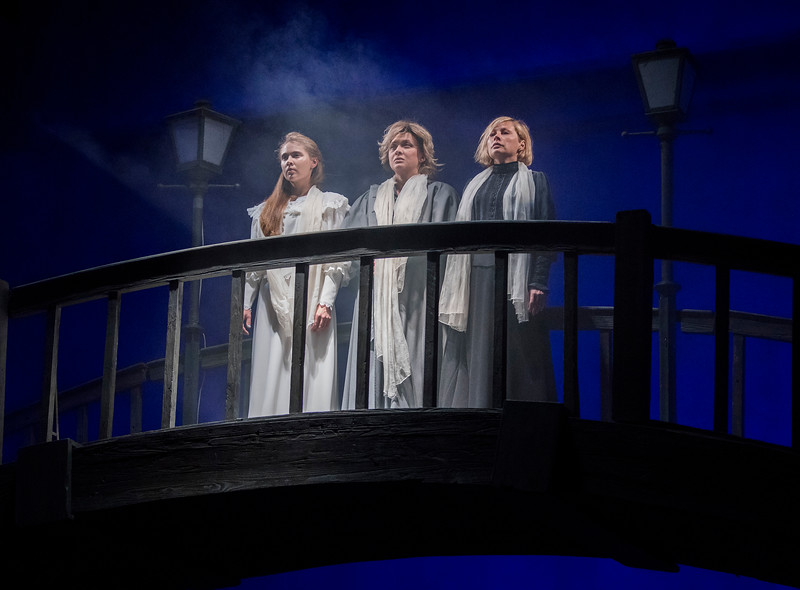 'Three Sisters' performed by Sovremennik Theatre Company at the Piccadilly Theatre, London, UK