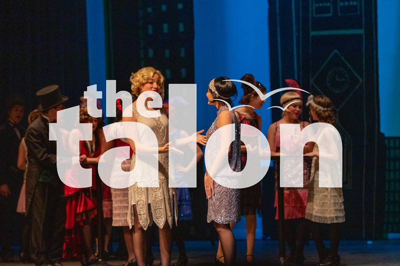 The theater department performs its 2020 production of Thoroughly Modern Millie. (Jaclyn Harris | The Talon News)