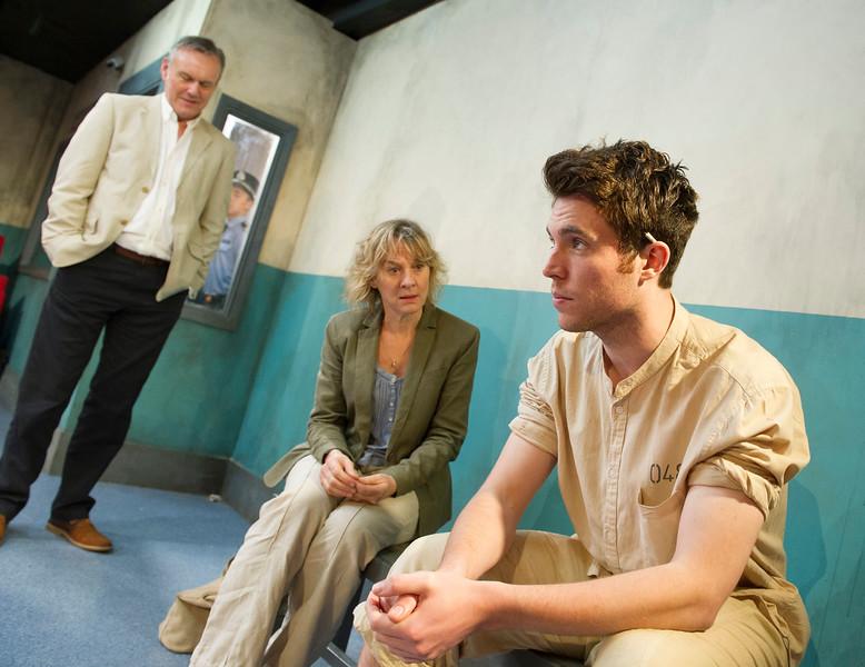 'Ticking' Play performed at the Trafalgar Studios, London, UK