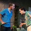 'True West' Play by Sam Shepard performed at the Vaudeville Theatre, London, UK