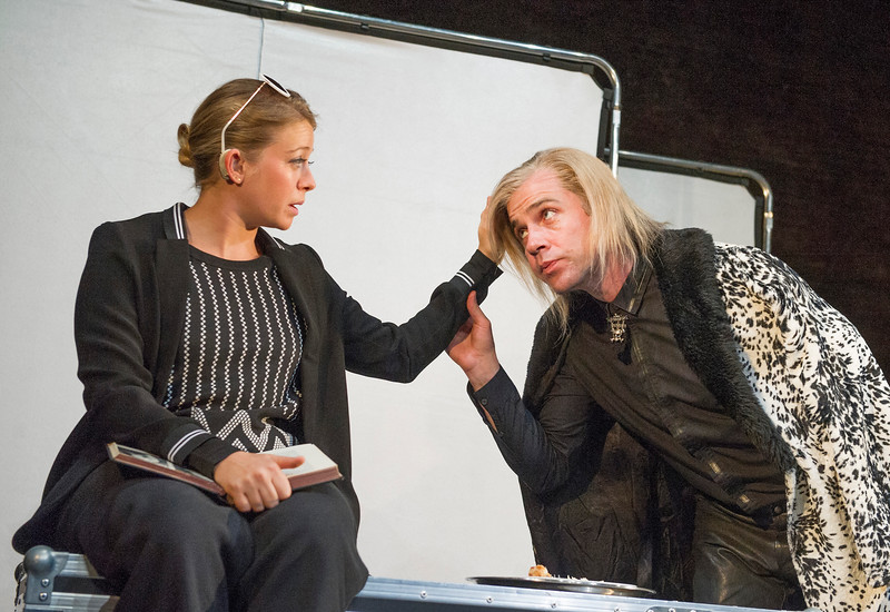 'Unreachable' Play written and directed by Anthony Neilson performed at the Royal Court Theare, London, UK