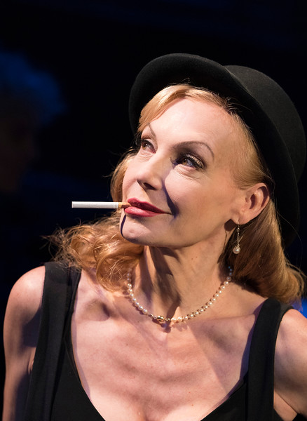 'Rendezvous with Marlene' Cabaret performed by Ute Lemper at the Arcola Theatre, London, UK