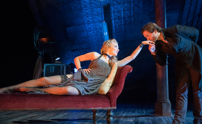 'Venus in Fur' Play performed at the Theatre Royal, Haymarket, London, UK
