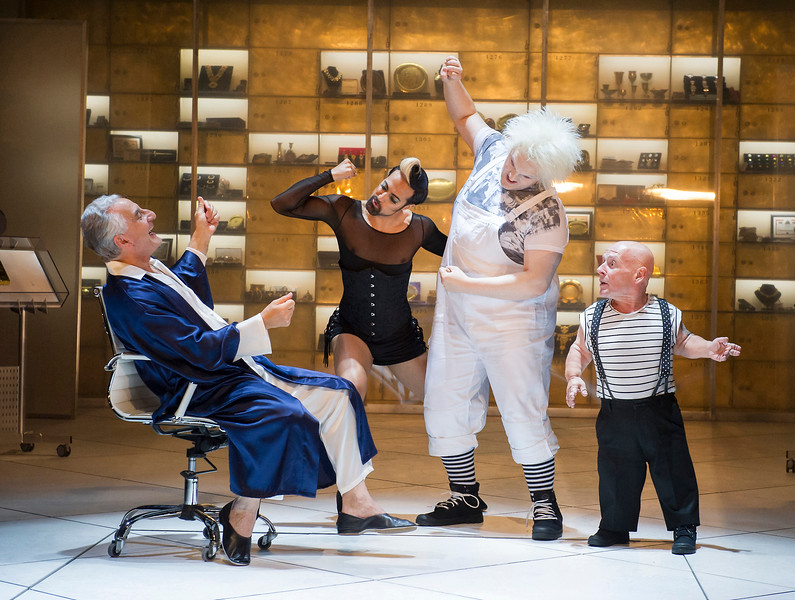 'Volpone' Play performed by the Royal Shakespeare Company at Stratford-upon-Avon, UK