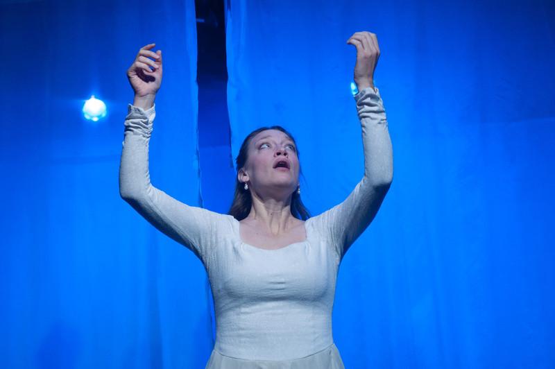 Kim Stauffer as Emilie. Photo by Enrico Spada.