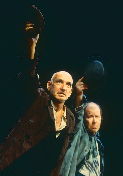 'Waiting for Godot' Play performed at the Old Vic Theatre, London, UK. 1997
