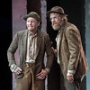 'Waiting for Godot' Play performed by Sydney Theatre Company at the Barbican Theatre, London, UK