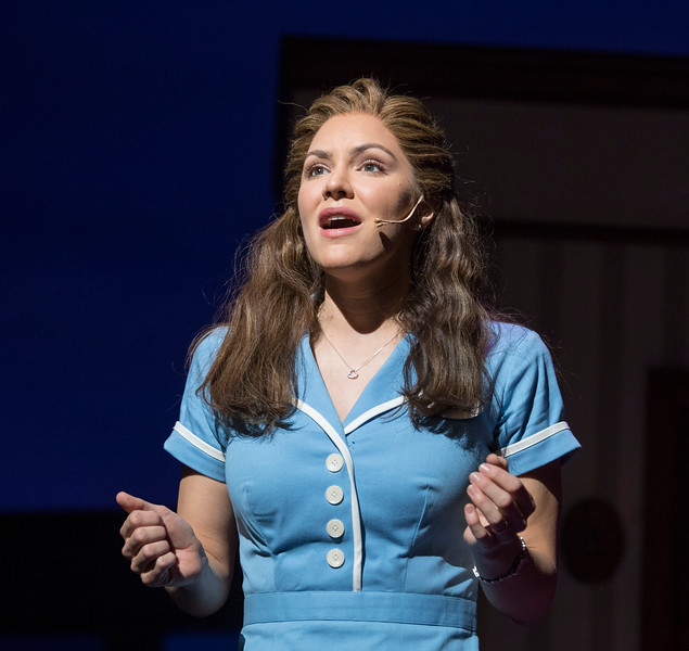 'Waitress' Musical performed at the Adelphi Theatre, London,UK