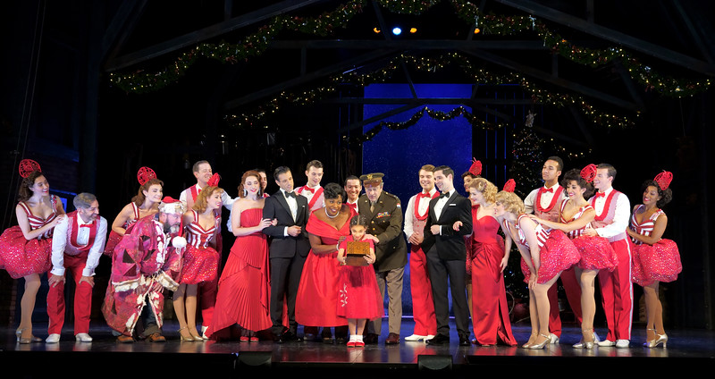 'White Christmas' Musical performed at the Dominion Theatre, London, UK