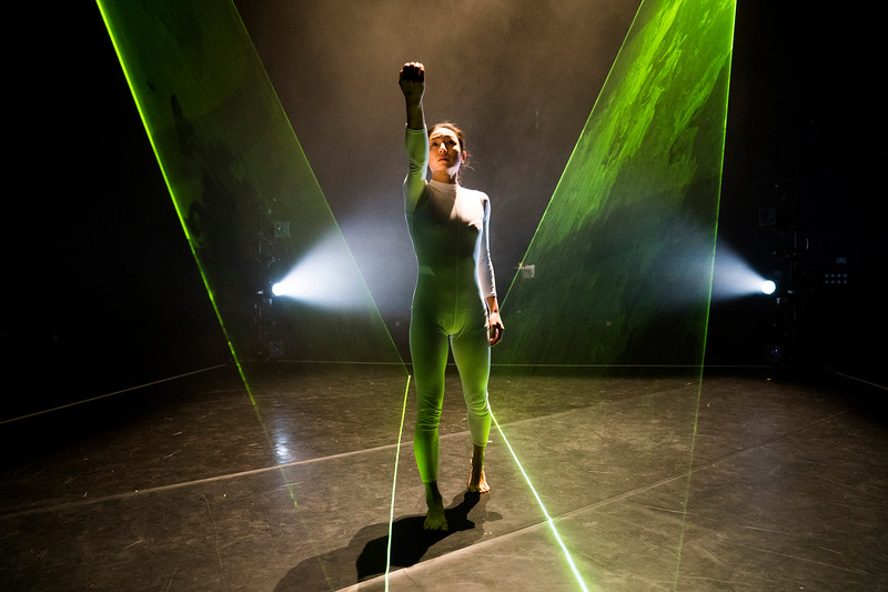 'Wild Card' Dance performed by Neon Dance at The Lilian Baylis Studio, Sadler's Wells, London, UK