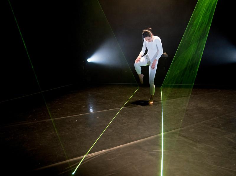 'Wild Card' Dance performed by Neon Dance at The Lilian Baylis Studio, Sadler's Wells, London, UK