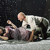 'Woyzeck in Winter' Play performed at the Barbican Theatre, London, UK