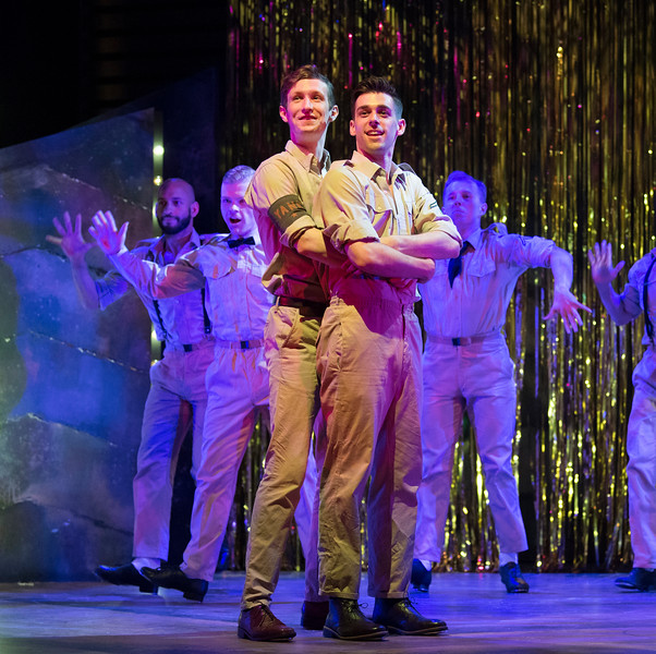 'Yank' Musical performed at the Charing Cross Theatre, London, UK