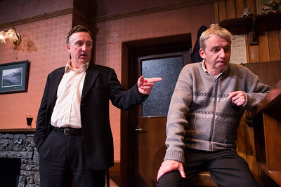 A scene from Decadent Theatres production of Martin McDonaghs The Weir. PIC DARRAGH KANE
