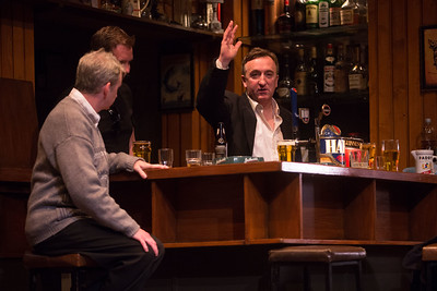 Garry Lydon a scene from Decadent Theatres production of Martin McDonagh's The Weir.  PIC DARRAGH KANE