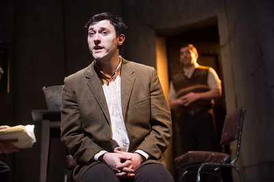 A scene from Decadent Theatres production of Martin McDonaghs's The Pillow Man on national tour in 2017. Pic Darragh Kane