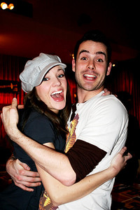 Chad Doreck with Laura Osnes, Planet Hollywood 03/25/08