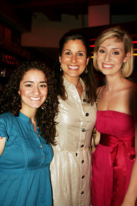 Joelle and Sarah with Stephanie Block