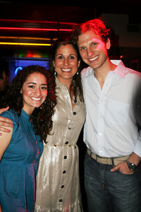 Joelle with Stephanie Block and Sebastian Arcelus..wife and hubby