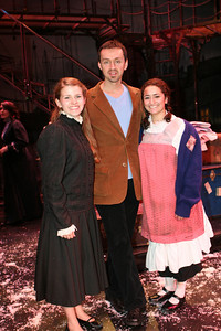 Katie, Andrew Lippa and Joelle after LITTLE PRINCESS 2006