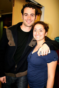 """Chad from GREASE: """"Your the One that I Want"""" and Joelle met up again at CCA, they did an original show reading together Nov 06... Chad is another one of David Green's prior students from OCHSA, and KND alumni"""